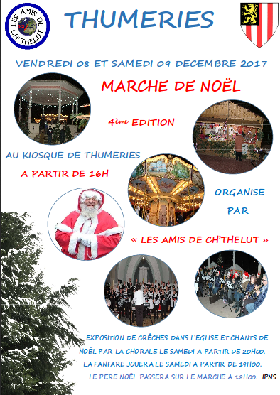 Kiosque, Thumeries, marché de Noël, 20171208-09